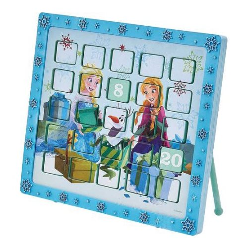 disney frozen anna and elsa 9 1 2 inch advent calendar. Black Bedroom Furniture Sets. Home Design Ideas