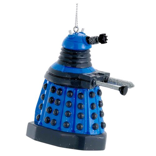 Doctor Who Blue Dalek 2 1/2-Inch Figural Ornament