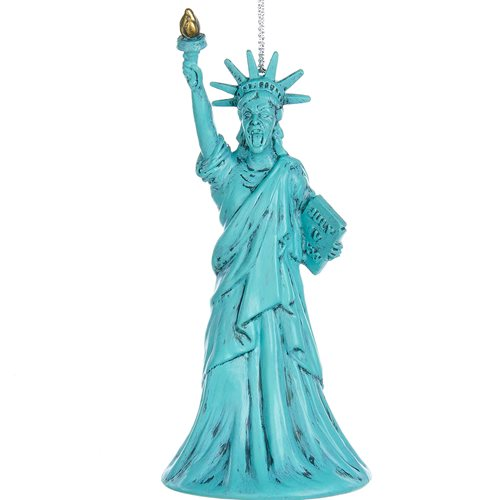 Doctor Who Statue of Liberty Weeping Angel 4-Inch Ornament