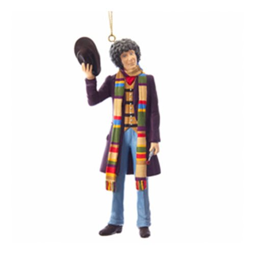 Doctor Who 4th Doctor 5-Inch Figural Ornament
