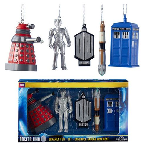 Doctor Who 2-D Printed Ornament Gift Box
