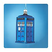 Doctor Who 4 1/4-Inch TARDIS Figural Ornament