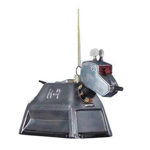 Doctor Who K-9 Figural Glass Christmas Ornament