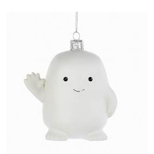 Doctor Who Adipose 3 3/4-Inch Glass Ornament