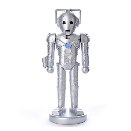 Doctor Who Cyberman 10 1/4-Inch Nutcracker