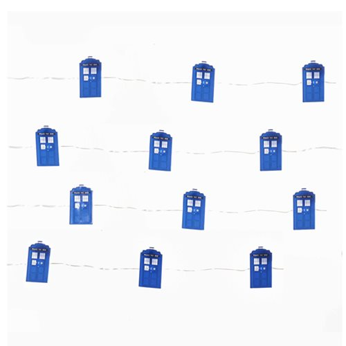 Doctor Who TARDIS LED Fairy Light Set