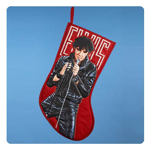 Elvis Presley 19-Inch Applique Stocking