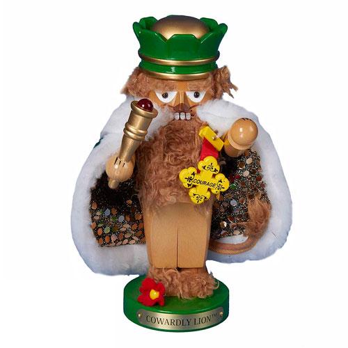 The Wizard of Oz Cowardly Lion Chubby Oz 11-Inch Nutcracker