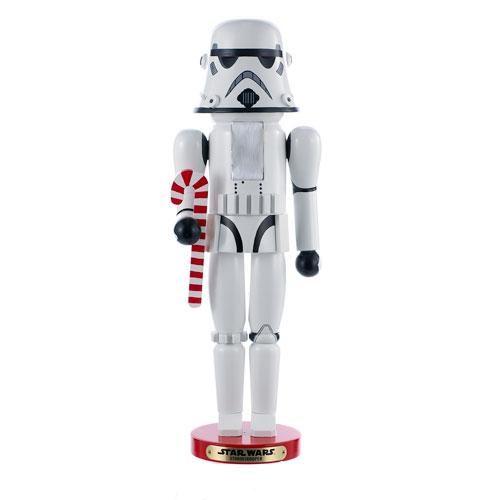 Star Wars Stormtrooper 18-Inch Wood Steinbach Nutcracker