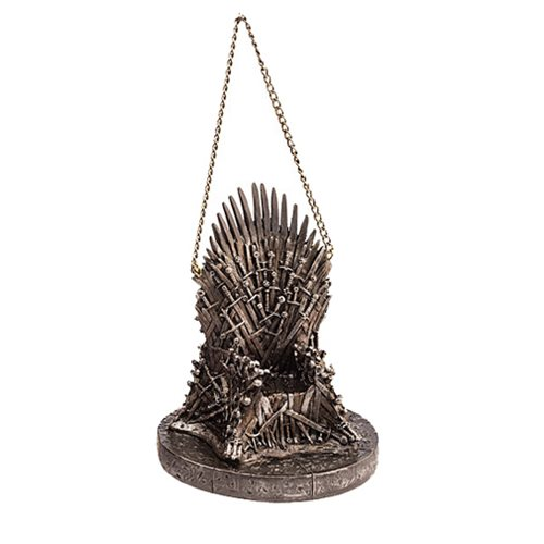 Game of Thrones 4-Inch Resin Throne Holiday Ornament