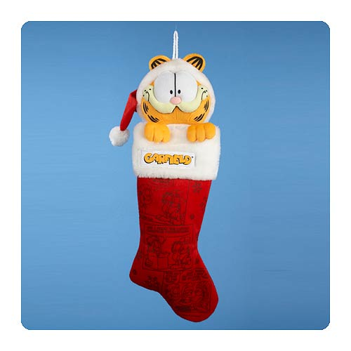 Garfield 24-Inch Plush Head Stocking