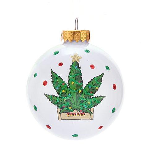 Cannabis 80 mm Ball Ornament