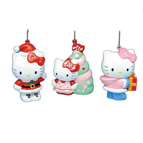 Hello Kitty Blow Mold Ornaments Wave 1