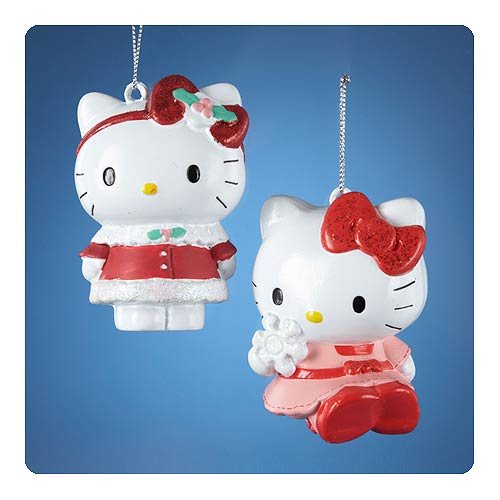 Hello Kitty Series 2 Figural Blow Mold Ornament Set