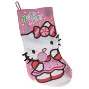 Hello Kitty 19-Inch Printed Felt Holiday Stocking