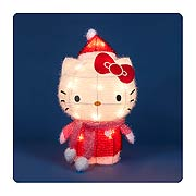 Hello Kitty 18-Inch Long String of 3-D Soft Tinsel Lights