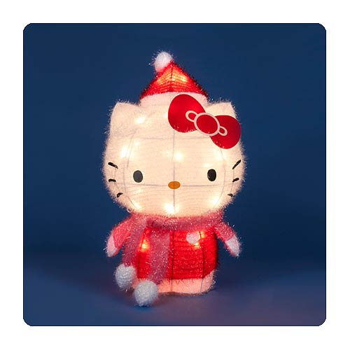 Hello Kitty Soft Tinsel 18-Inch Light-Up Display