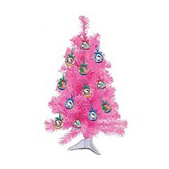 Hello Kitty 23-Inch 14-Piece Pink Christmas Tree