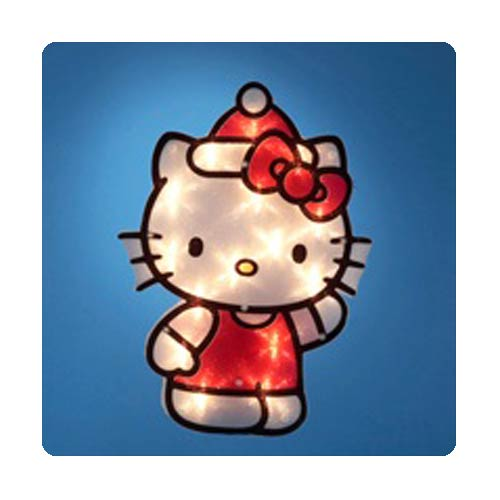 Hello Kitty 12-Inch Light-Up Window Decor