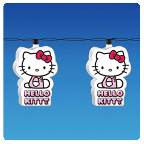 Hello Kitty Decal Christmas Lights