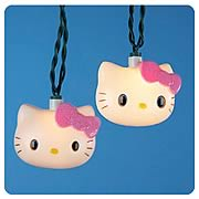 Hello Kitty Blow Mold Light Set