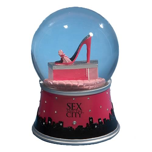 Sex and the City 5 1/2-Inch Water Globe