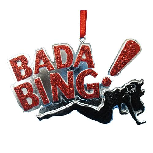 Sopranos Bada Bing 3 1/2-Inch Resin Ornament