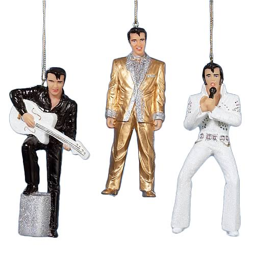 Elvis Presley 5-Inch Resin Ornaments