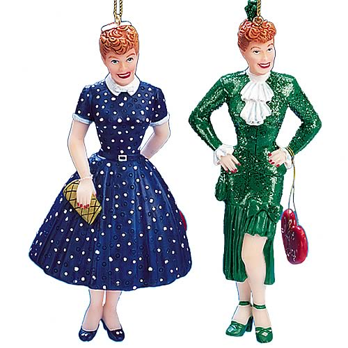 I Love Lucy Ladies Ornaments