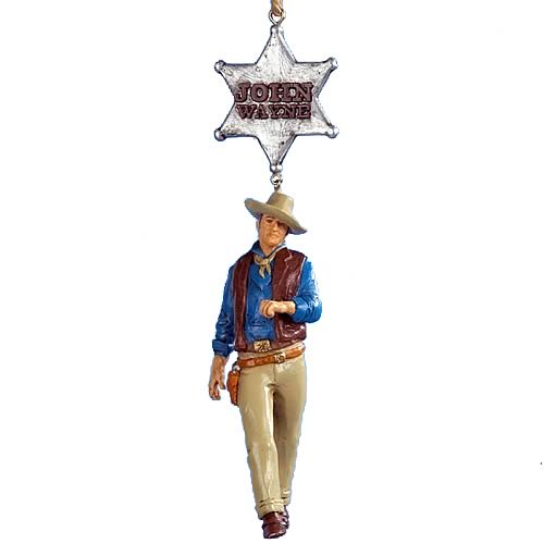 John Wayne Rio Bravo 4-Inch Resin Ornament
