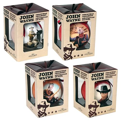 John Wayne Ball Ornaments