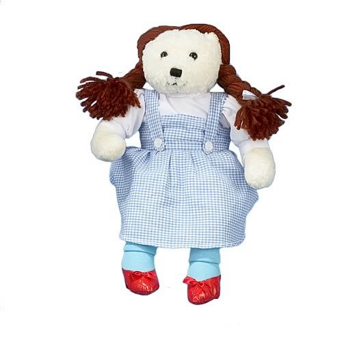 Wizard of Oz Dorothy Gale 12-Inch Teddy Bear