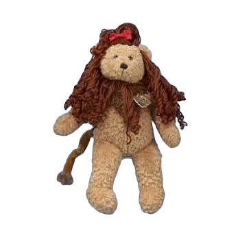 Wizard of Oz Cowardly Lion 12-Inch Teddy Bear