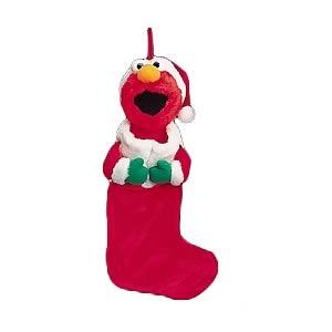 Sesame Street Elmo Stocking