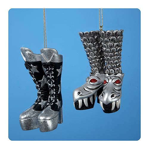 Kiss christmas ornaments for the band santa s site