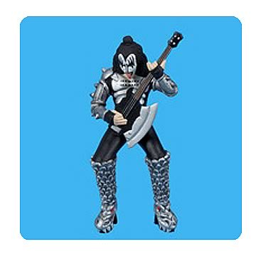 KISS Gene Simmons Demon Shredding Resin Ornament