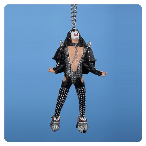 KISS Gene Simmons Demon Howling Resin Ornament
