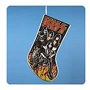 KISS 19-Inch Band with Flame Applique Stocking