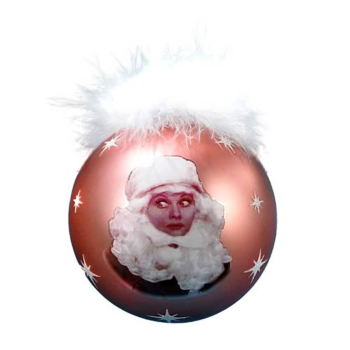 I Love Lucy Pink Glass Ball Ornament