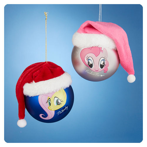 MLP Pinkie Pie and Rarity Shatterproof Ornament Set