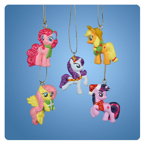 My Little Pony Resin 1 1/2-Inch Ornament 5-Pack