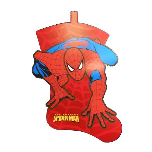 Spider-Man Felt Stocking