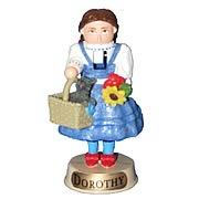 Wizard of Oz Dorothy Gale 4-Inch Resin Nutcracker