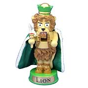 Wizard of Oz Cowardly Lion 4-Inch Resin Nutcracker