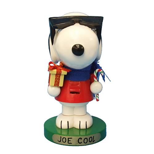Peanuts Joe Cool Snoopy 10-Inch Nutcracker