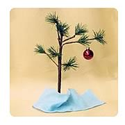 Peanuts 14-Inch Tree with Ornament and Blanket Display