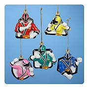 Power Rangers 5-Pack Ornaments