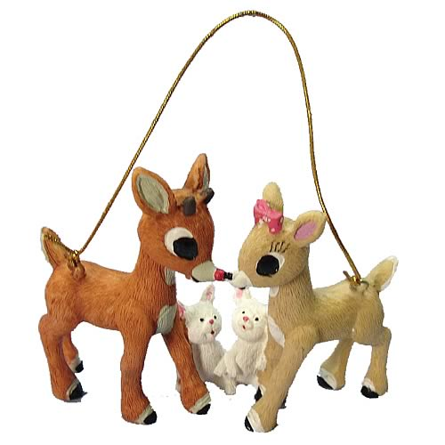 Rudolph the Red Nosed Reindeer 3-Inch Resin Ornament