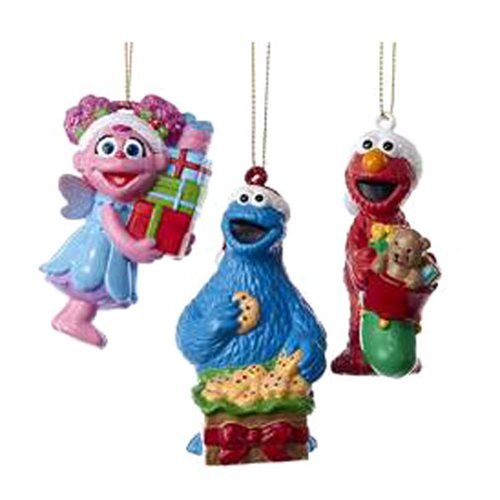 Sesame Street Blow Mold Ornament Case