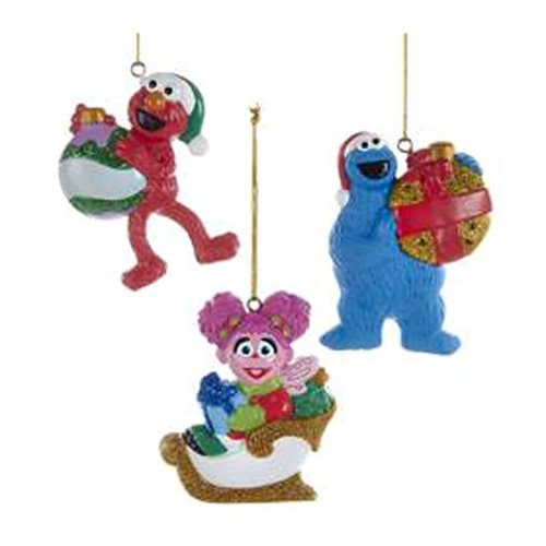 Sesame Street 3-Inch Personalization Ornament Set